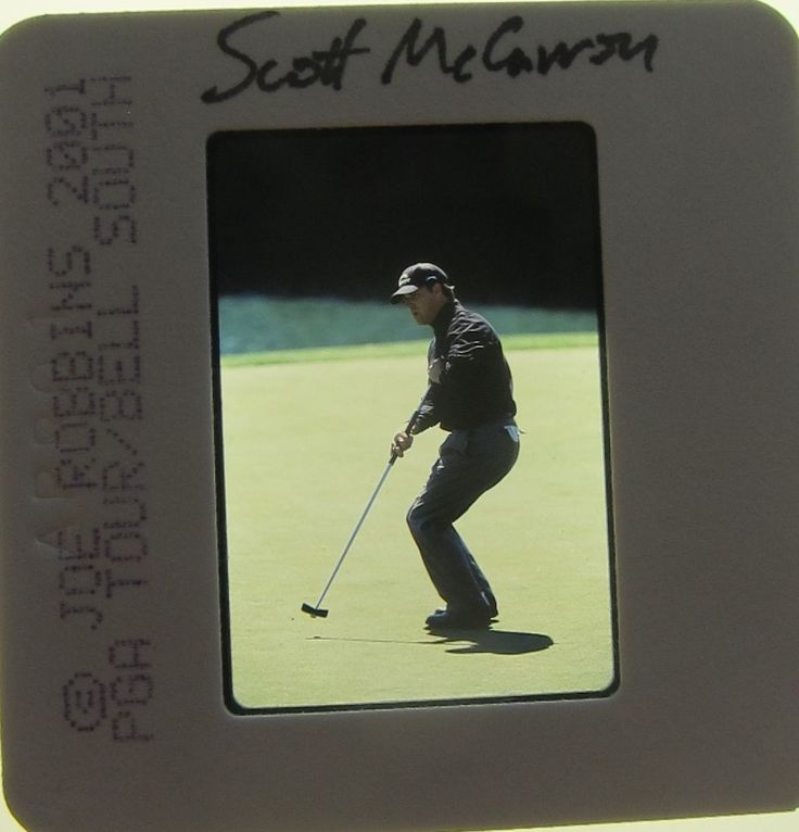 SCOTT McCARRON PGA MASTERS US BRITISH OPEN 7 WINS ORIGINAL SLIDE 3