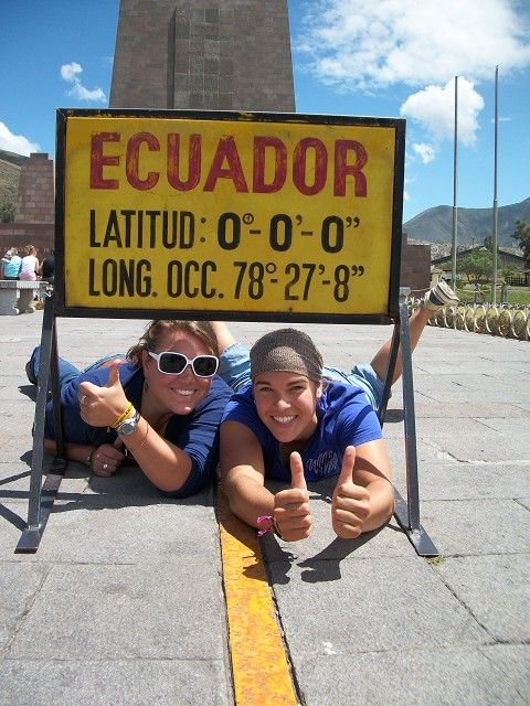Stand on the equator. On the to-do list