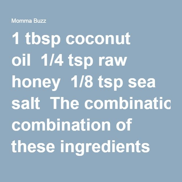 SLEEP - take 1 Tb coconut oil 1/4 tsp raw honey 1/8 tsp sea salt --   sets your body in its 'sleeping mode.' It normalizes the secretion of stress hormones, keeping your cortisol spikes under control. It is actually the spikes that wake you up 3am.
