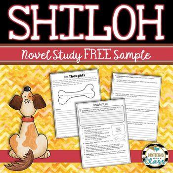 Shiloh Novel Study Unit: FREE Sample