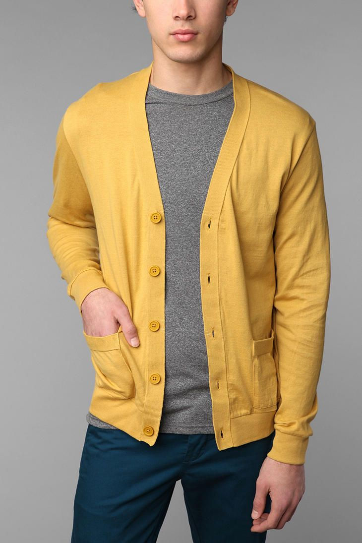 URBANOUTFITTERS-- Hawkings McGill Solid Cardigan...I want this for ...