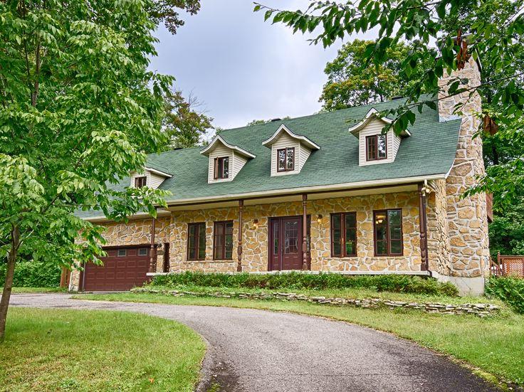 maison canadienne en pierre des champs st jrme - Maison Canada