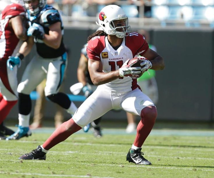 Cardinals vs. Panthers:    October 30, 2016  -  30-20, Panthers  -   WR Larry Fitzgerald with the catch