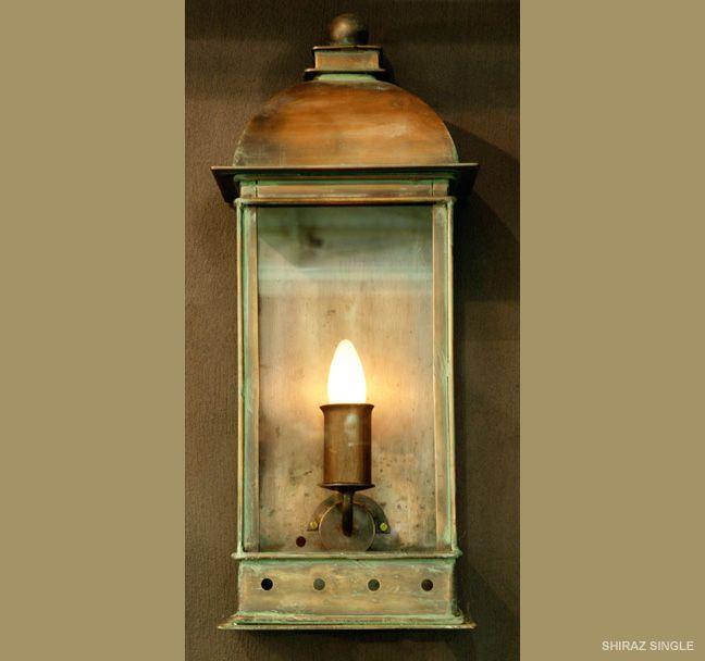 Shiraz wall mounted lantern..