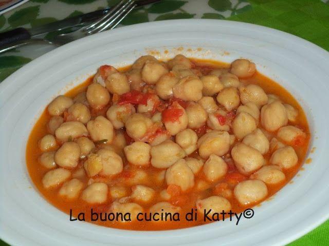 La buona cucina di Katty: Zuppa di ceci