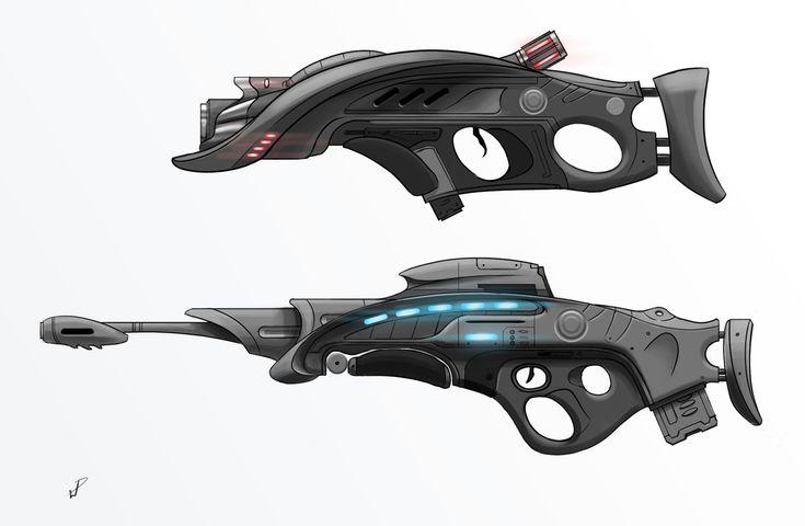 Gun Designs 01 | 총기류 | Pinterest | Future weapons, Sci fi ...