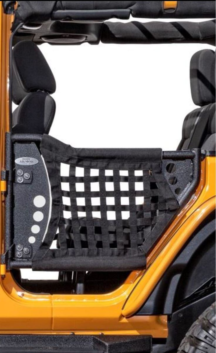 Body armor trail doors are uniquely designed with rear set of 2 jk 6138