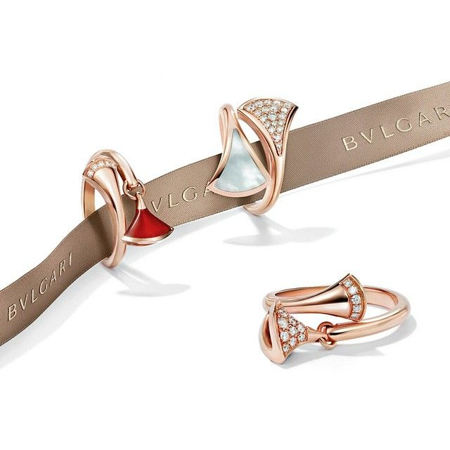 bvlgari see more diva wraps your ring finger or any finger with her delicate geometry high