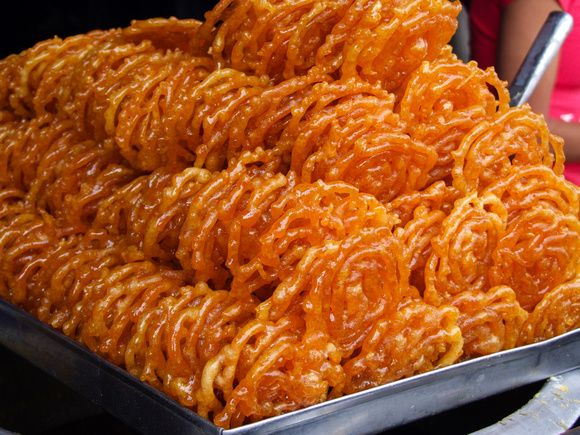 Jalebi is  one of Nepal's foods.