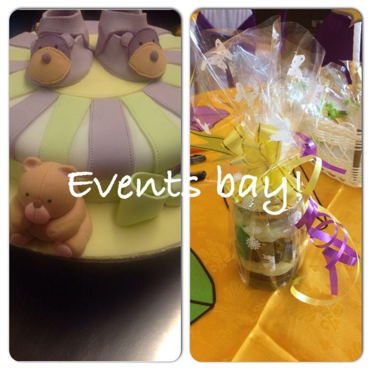 #eventsbay# baby shower theme cakes & dessert jars