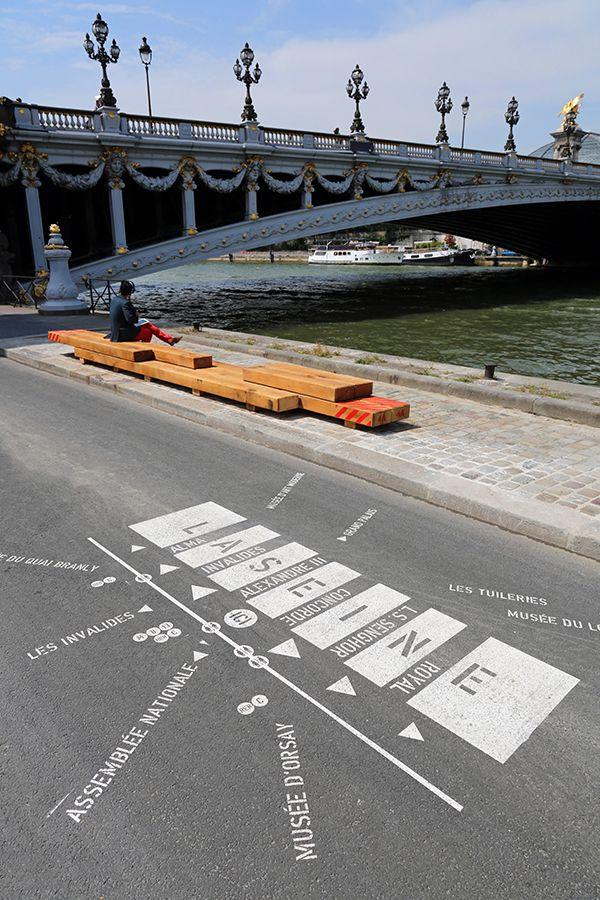 FRANKLIN AZZI ARCHITECTURE » AMENAGEMENT DES BERGES DE SEINE RIVE GAUCHE PARIS