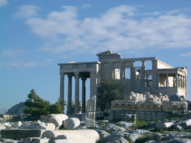 The ruins of Acropolis - #Athens #Greece #travel