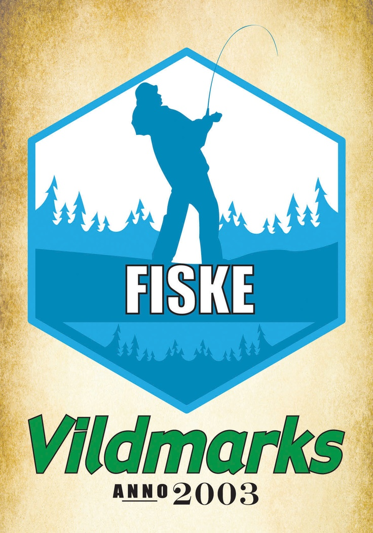 Poster for Vildmarks Erätukku. A chain of hunting/fishing/outdoor shops in Sweden and Finland.