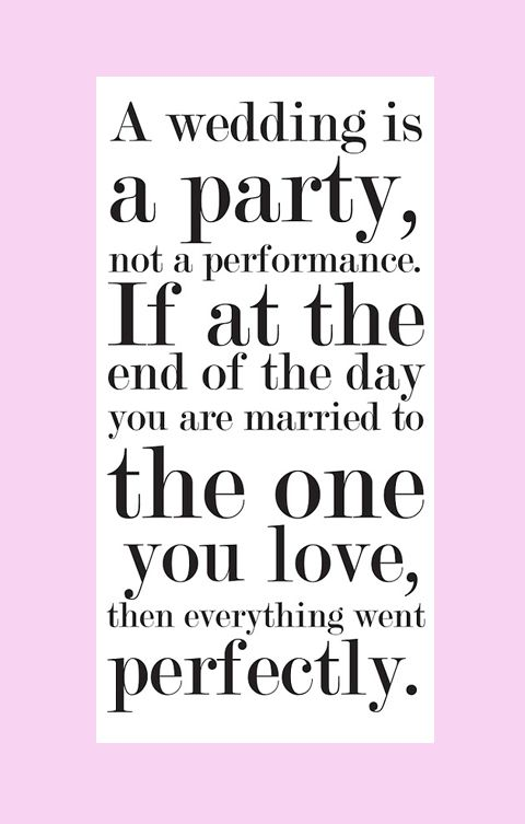 Quotes About Planning A Wedding