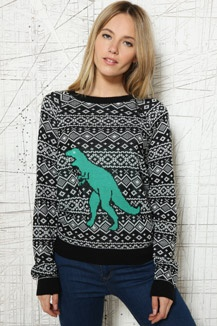 Cooperative T-Rex Sweater