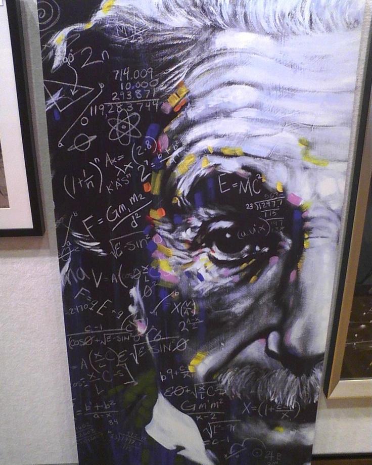 Albert Einstein Painting