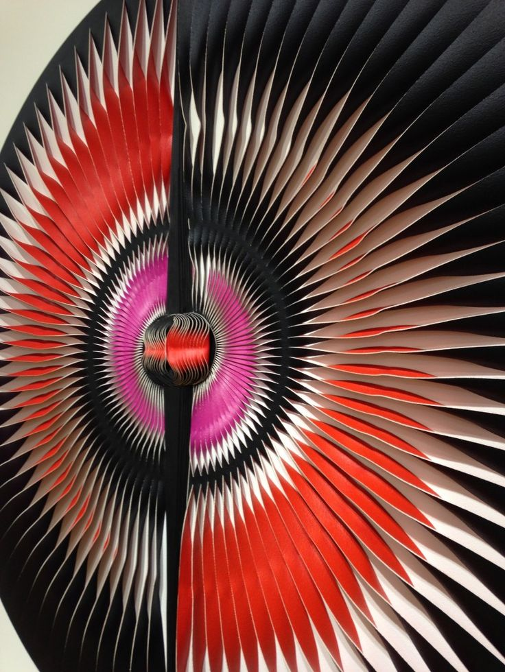 Liquid Light: Butterfly No.17 (detail) 2014 by MARION BORGELT