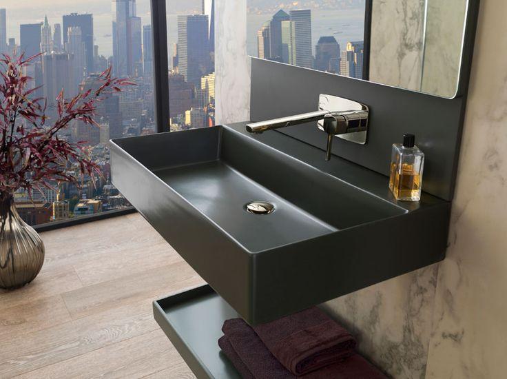 Best in #bathroom design at #Cersaie2015. The symmetry & asymmetry of Pure Line