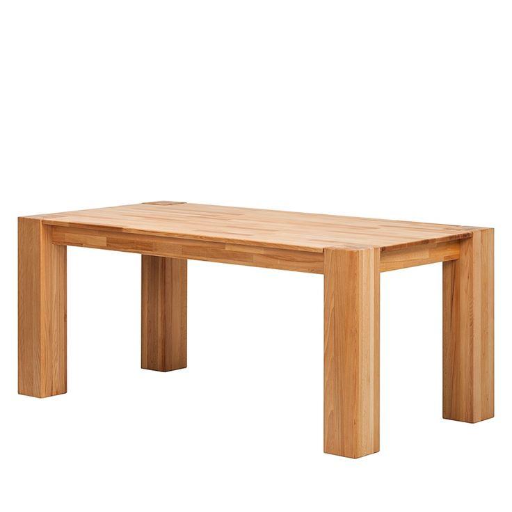 Tavolo da pranzo NoahWOOD - Legno massello di faggio