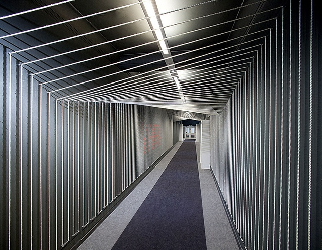 YARN - threading its way along the communal corridor