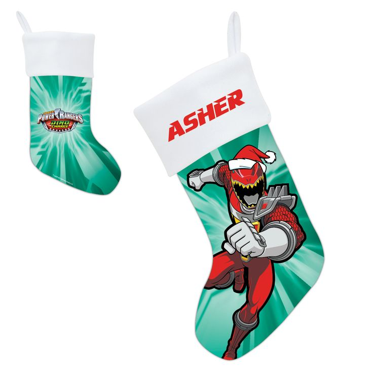 28 best personalized stockings for kids images on pinterest add this power rangers stocking to your seasonal decor personalized negle Gallery