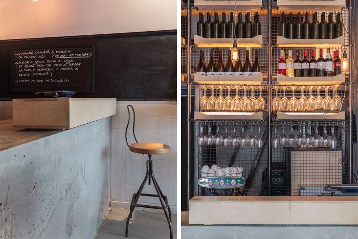 BVS wine shop & Bar Beros & Abdul Architects www.sod.ro