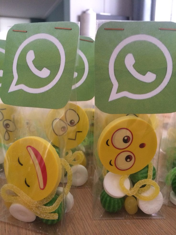Whatsapp traktatie groep 6
