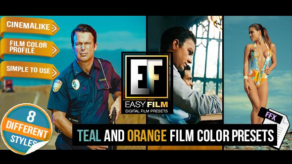 Film Color Presets by cyzer | VideoHive
