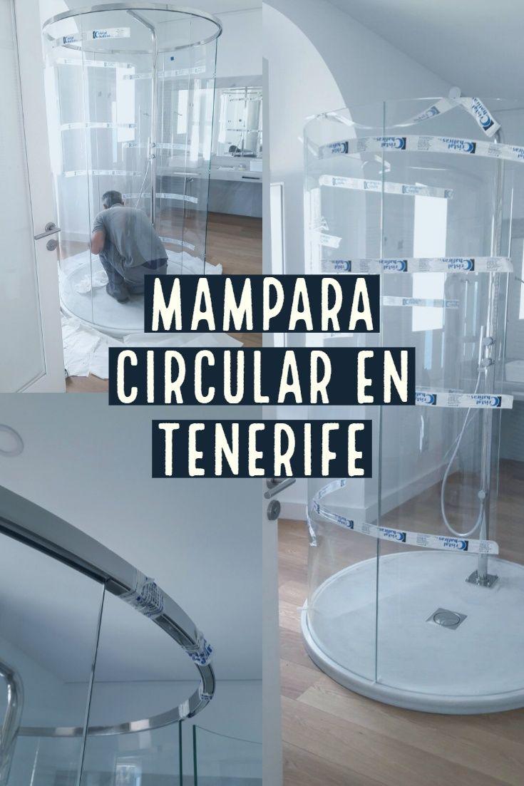 Mampara Circular De Cristal Para Bano En Tenerife Cristal