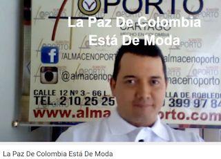 Vía @ModaPolitica  : La Paz De Colombia Está De Moda