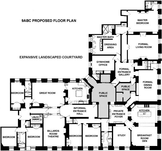 1000 images about floorplans on pinterest the dakota for Floor plans manhattan apartment buildings