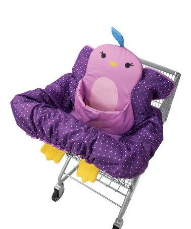 Look what I found on #zulily! Purple Bird Buddy Guard™ 2-in-1 Cart Cover #zulilyfinds