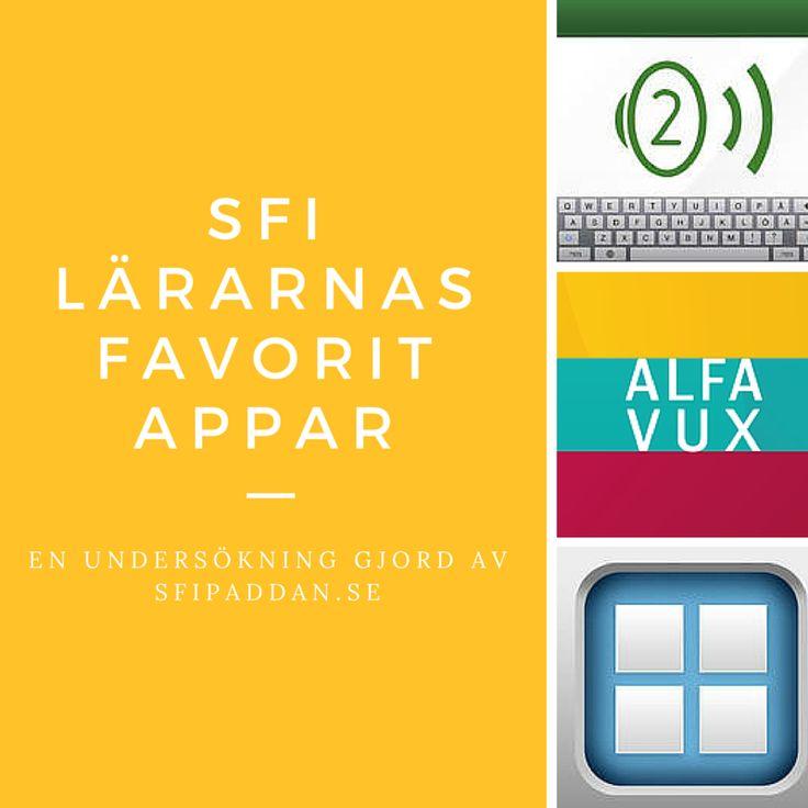 Undersökning: Sfi-lärarnas favorit-appar!