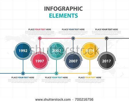 Business Infographic timeline process template, Colorful Banner text box desgin for presentation, presentation for workflow diagram design