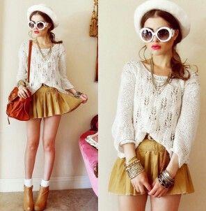 Cute sweater fashion
