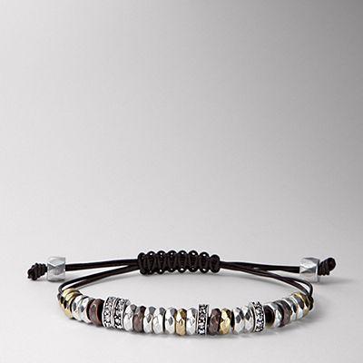 bracelet - like this technique better than a sliding knot