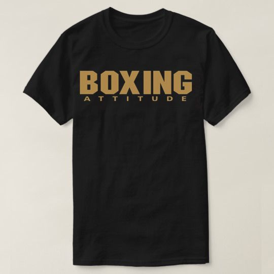 Boxing Attitude Custom Shirts