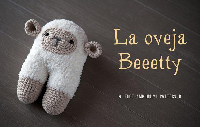 Lanukas: Beeetty Sheep :: Crochet Pattern :: (English translation at bottom)