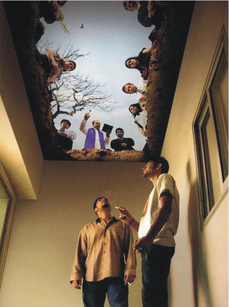 Soffitto sala fumatori