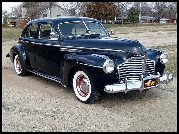 I purchased my FIRST car a 1941 Buick 51 Touring Sedan  248/115 HP, 3-Speed it cost $60.00. It didn't last very long I had to clean the spark plugs once or twice a week.