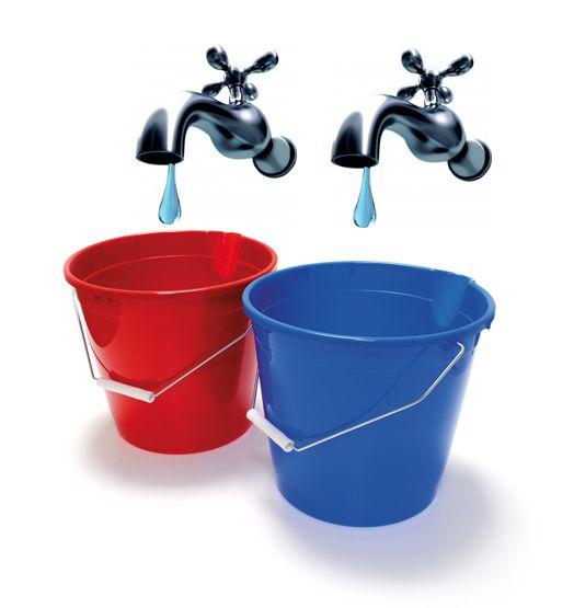 Plníte vedrá vodou, alebo staviate vodovod?