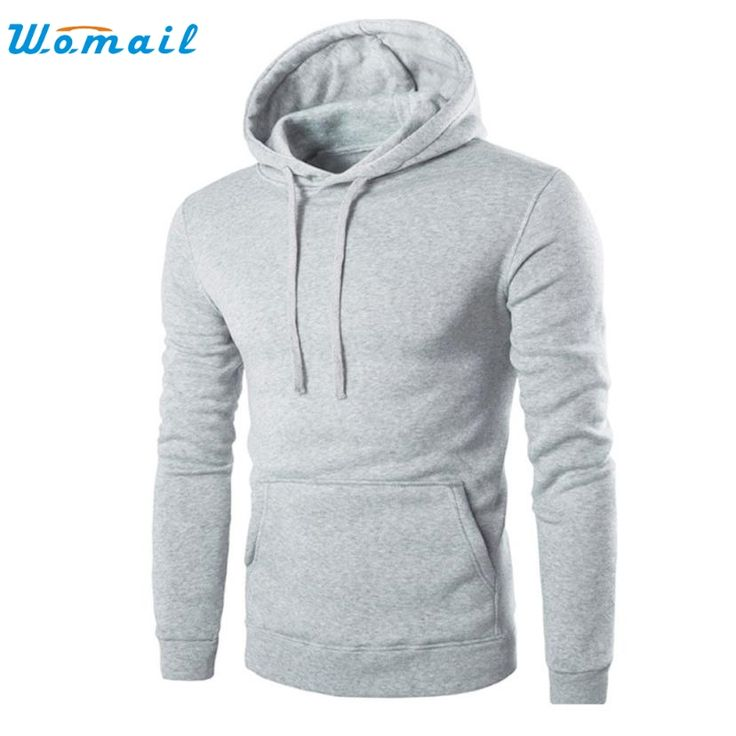 Click to Buy << Men Retro Long Sleeve Hoodie Hooded Sweatshirt Tops Jacket.  >>
