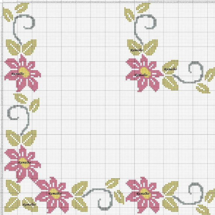 flores+em+canto.jpg (1600×1600) Mais
