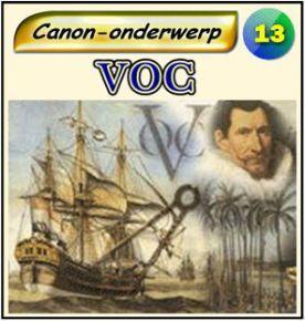 bij les 8; links naar filmpjes over de VOC