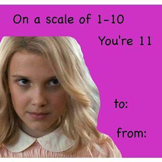 This Valentine S Day Card Stranger Things Pinterest Stranger