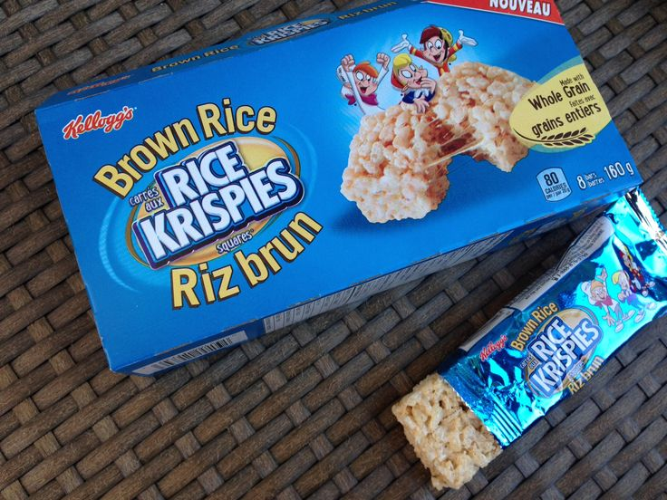 NEW Kellogg's Back to school products. We love these Rice Krispies Treats mae…