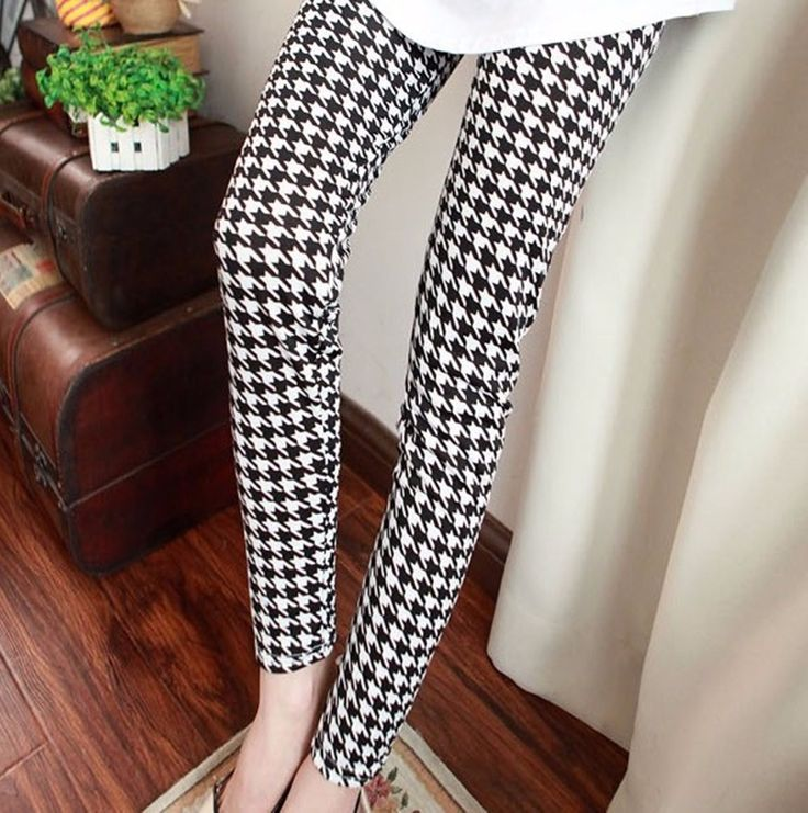 Find More Information about Black and white plaid milk silk stripe print legging women spring summer autumn long trousers plus size skinny pants,High Quality pants leopard,China trousers baby Suppliers, Cheap pants spandex from Molly Zhang's Store on Aliexpress.com