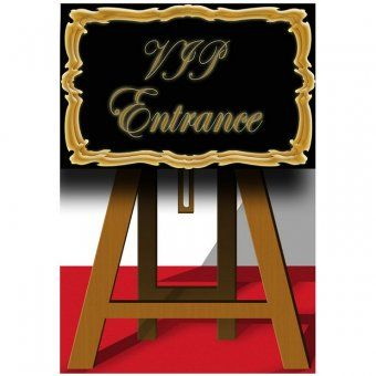 Self Standing VIP Entrance Sign Cutout