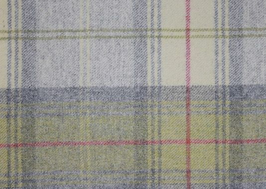 Woodford Plaid 163 69 00 Per Metre Wool Tartan Fabric In Off