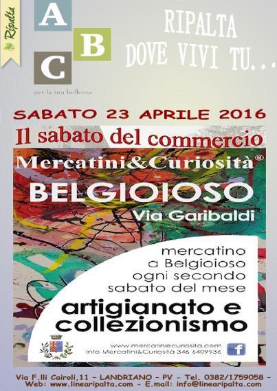 SABATO 23 APRILE 2016 RIPALTA DOVE VIVI TU ... A BELGIOIOSO ( PV)